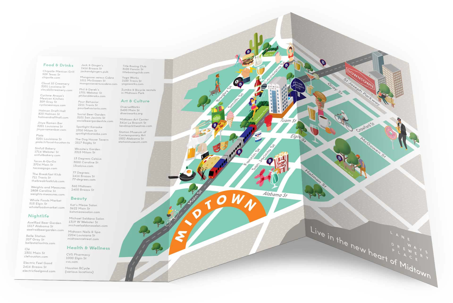 Snapshot of the Midtown map